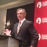 Prentice takes the mic to talk #AbBudget #yyc #yeg #ableg http://t.co/kPm3UWPs2u