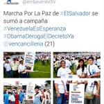 Para los que tenían duda sobre el objetivo de la marcha de ayer, la embajada de Venezuela se la aclara. #DigoYo http://t.co/FRA5e5otdB