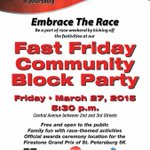 Just a few hours from the #FirestoneGP Fast Friday Block Party! More info here http://t.co/GYCtahSYhb #EmbraceTheRace http://t.co/DD8iER7Zg5