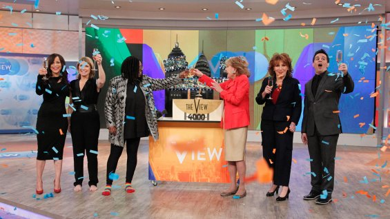 'The View' Celebrates 4,000th Episode With Look Back, Trivia Contest