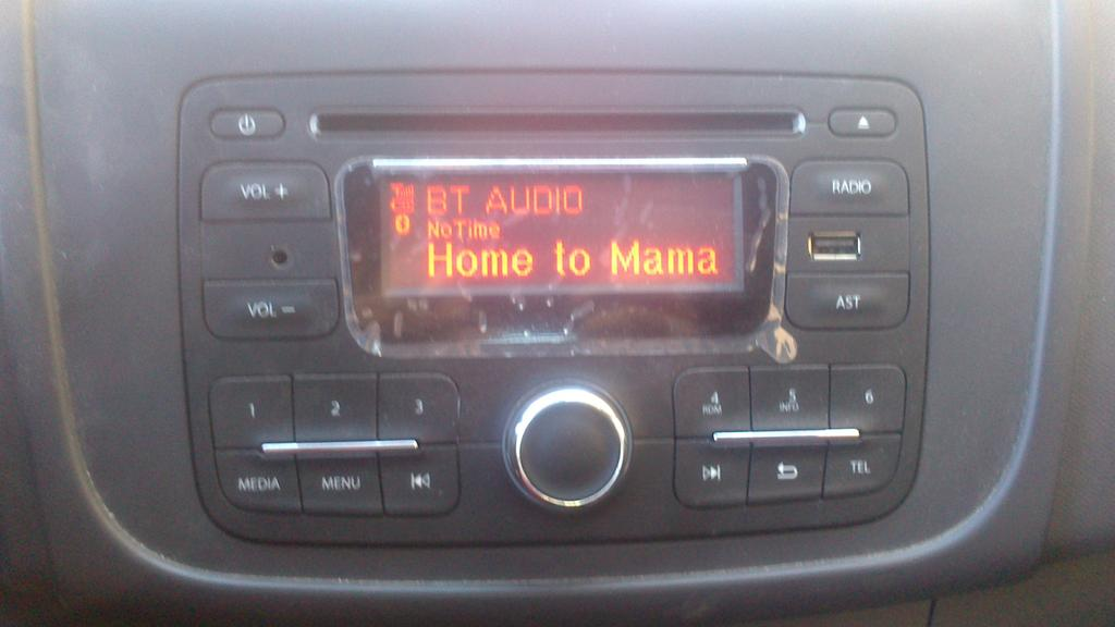 Home To Mama was on radio today.