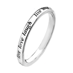 Only 3 hrs left to #win our Silver Live Love Laugh ring! F&RT 5pm draw #FreebieFriday #competition #giveaway http://t.co/fHZ1hCdFOI
