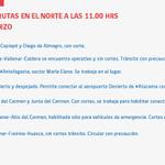 Informe de rutas norte @reddeemergencia http://t.co/TslV1YPbpJ
