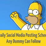 A Daily Social Media Posting Schedule Any Dummy Can Follow - http://t.co/D9EP6qokcr #Marketing #KPRS http://t.co/WhZhbkfpq4