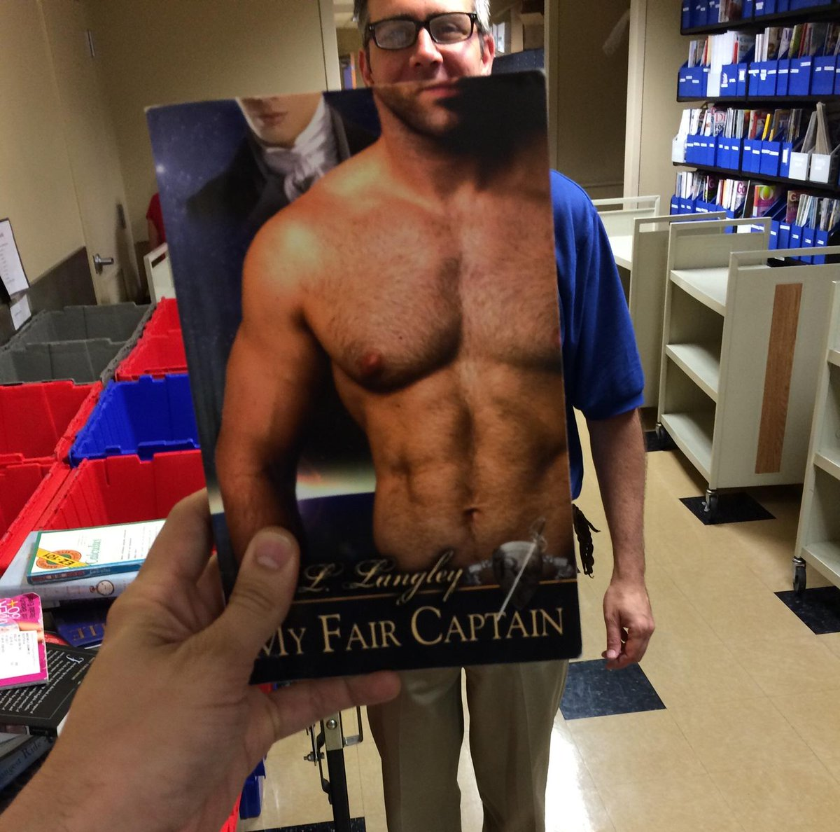 #BookFaceFriday! We'd love for you to join fun & show us YOUR bookface! http://t.co/EoLZ3i4AQU. #SLPL150 #bookface http://t.co/VdYQk9N6Qq