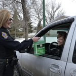 Our first stop! #OperationWiperDrive is a go, providing windshield safety tips & FREE jugs of fluid to #yqr drivers http://t.co/0eaxBPzryh