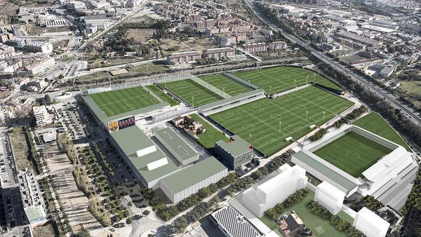 Fcbarcelona es as ser la nueva ciudad deportiva joan for Puerta 8 ciudad deportiva
