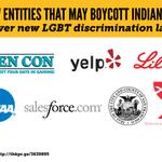 Who might boycott Indiana: http://t.co/7cXr5fIUu7 http://t.co/B4pFJNGHfg
