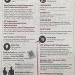 RT @johnwangker : Sistem #GST memang lebih sempurna drpd SST...PERCAYALAH!  #Malaysia http://t.co/npZ960Ti2Q #AnakKL