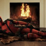 With great power, comes great irresponsibility. #deadpool #officialsuit @deadpoolmovie http://t.co/MPM89bYz1B