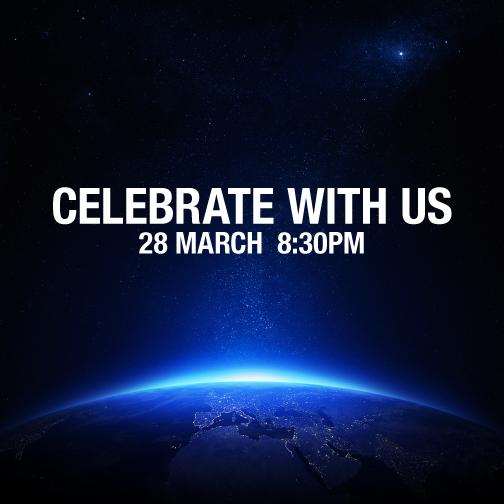 Are you ready to celebrate #EarthHour 2015? RT if you will be partying with us! http://t.co/Sm1Ad8avAk