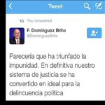 Día sentencia Félix Bautista, Domínguez Brito publicó tuit criticando justicia y después borró http://t.co/djrQf9vB9q http://t.co/0ZikSm8siR