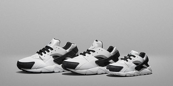 Nike Air Huarache Junior Black