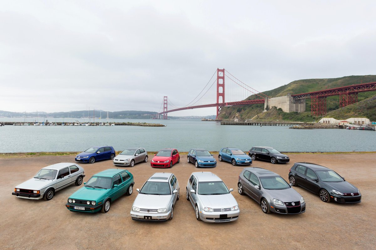 Here's a cool spot to take a family portrait lol. Which @VW gen is your favorite? http://t.co/4cwaUjoB1K