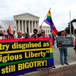 """Tech companies call Indianas """"religious freedom"""" law discrimination: http://t.co/sVGEGMjNKl http://t.co/gNvKJfNuso"""