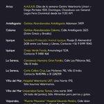 CENTROS DE ACOPIO PARA ANIMALES AFECTADOS EN EL NORTE. #Arica #Antofagasta #Copiapó #LaSerena #FuerzaNortedeChile RT! http://t.co/m4JXUqT9vL
