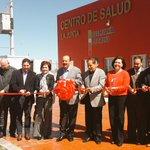 Corte de listón inaugural del Centro de Salud en La Junta @BerthitaDuarte @PedroHF1 @GoberDuarte http://t.co/W75c3A0oYN