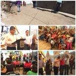 Hoy arrancamos una pavimentación mas en el Ejido la Unión para mejorar la calidad de vida de sus habitantes #Torreón http://t.co/gMUMmV2wNt