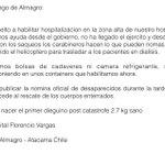 """@sucastellon desde #DiegodeAlmagro @GobiernodeChile FuerzaNortedeChile http://t.co/H8MacGzcI6"" @fernando_grana"""