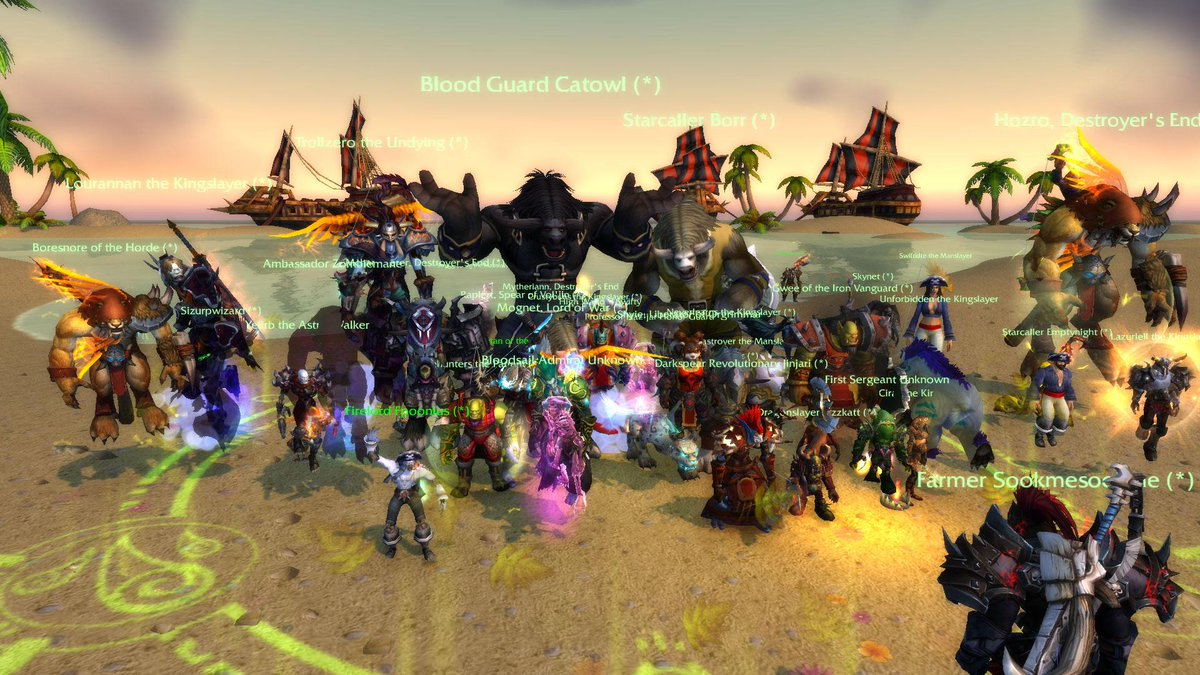Swifty (@SwiftyiRL): Check out my screenshot from World of #Warcraft! Glorious Raid, For the Horde! wtb pvp http://t.co/6o7mW0eJ7I