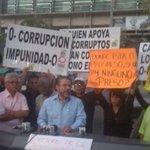 .@MorenoGuillermo mostrando su indignación por la reinante impunidad en el país. #CarcelACorruptos http://t.co/DoqQfadRO8