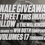 Win ALL THE COMICS! RT this image (and make sure youre following us @TheWalkingDead) to enter for a chance to win! http://t.co/vnEewnQU6B