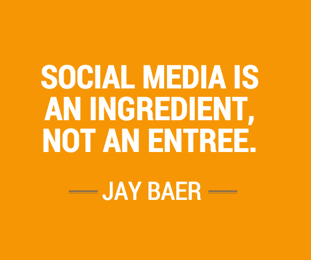 #SocialMedia is an ingredient, not an entree.  #smmw15 http://t.co/Z3jIcwQVuC