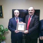 Kocaeli Ensar Vakfı olarak Ak Parti Kocaeli il başkanı sn Şemsettin Ceyhan beyi makamında ziyaret edip tebrik ettik. http://t.co/HsMt0shACm