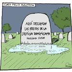 Muerte de la Justicia, por David Arbona para @grilloreporte #LachispadelGrillo http://t.co/gQjoMSuFMA