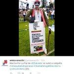 Embajada de Venezuela dice que Marcha por la Paz fue en apoyo al gobierno de Maduro > http://t.co/zvTR4Fnx12 http://t.co/miEA7HqNkm