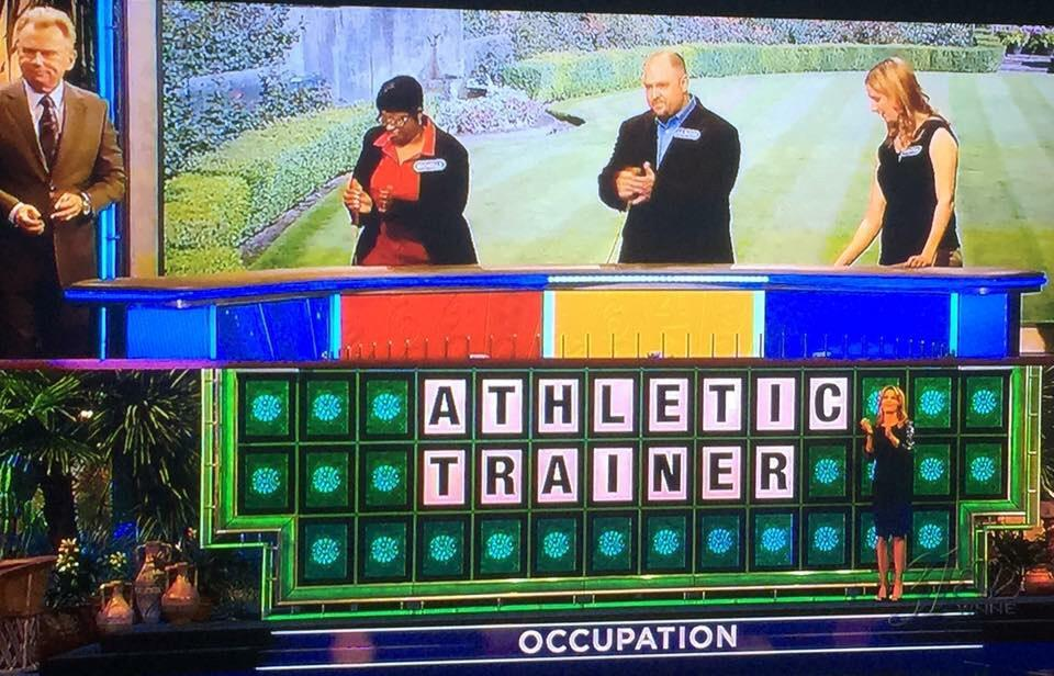 How's this for a fun #NATM2015 shoutout? Thanks @WheelofFortune! #AthleticTrainer http://t.co/kcUu89Tjyc