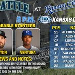 Spend your Friday night with the @Royals on FSKC. First pitch scheduled for 8:05 p.m. CT. #ForeverRoyal http://t.co/mjHMLERCgE