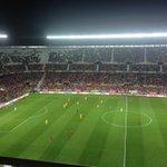 Gran conexión entre Iniesta, Koke y Morata, y 1-0 para la @SeFutbol ante Ucrania. Primer gol de Morata con España http://t.co/ju5EKSTuOl