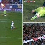 Goleiro é atingido por sinalizador, e Montenegro x Rússia é paralisado após 13s de jogo; VEJA  http://t.co/F4SQ7T4vCY http://t.co/BeHFY3BWnx