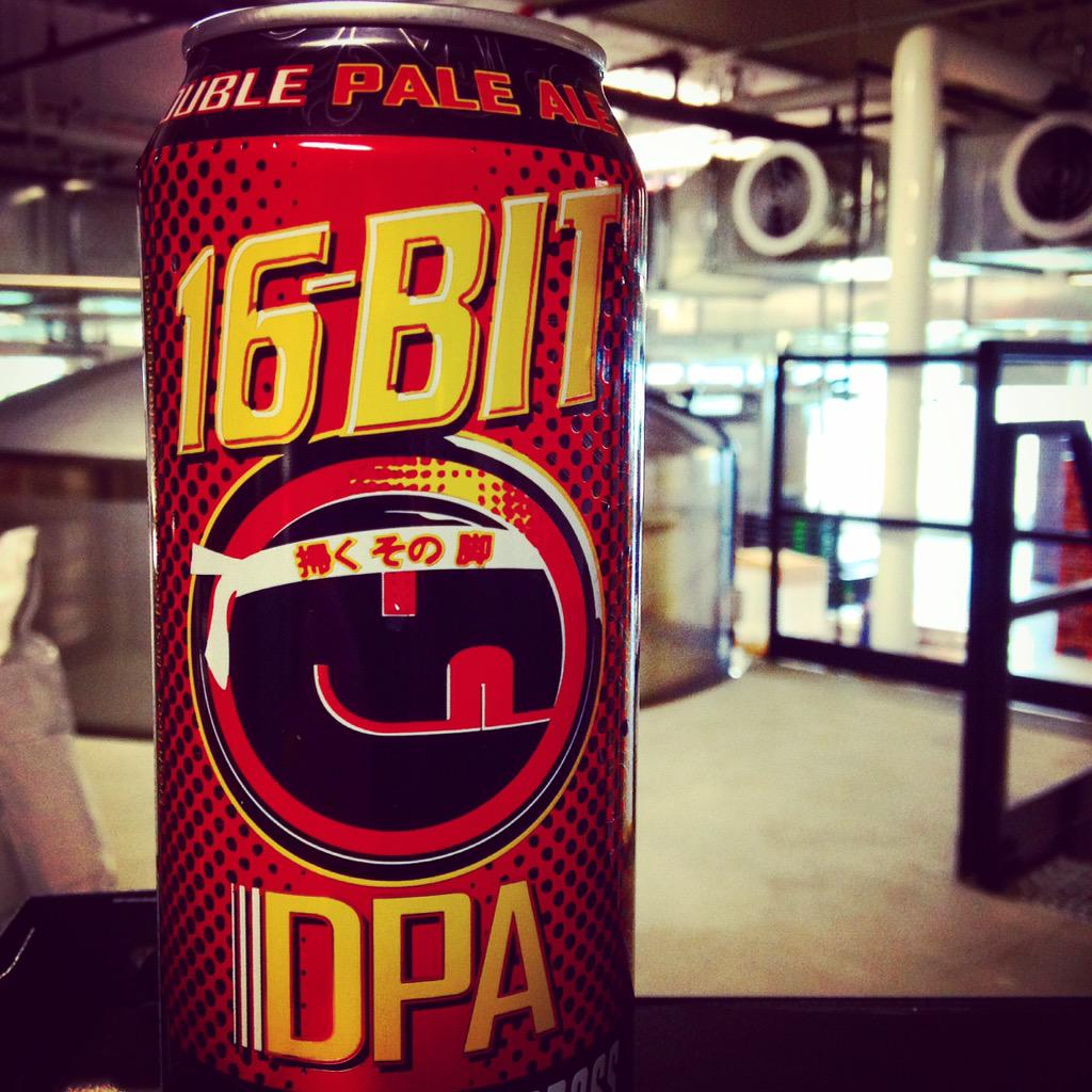 16 Bit cans have arrived!! Hitting shelves the second week of April! #tallgrassbrewing #craftbeer #16Bit #FINISHIT http://t.co/owf5r9341P