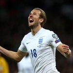 PHOTOS: Its debut delight for @hkane28 as he celebrates his first goal for the senior @England team. #ENGvLIT http://t.co/PJu4XbmdeI