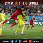 ¡FINAL! La @SeFutbol VENCE a Ucrania con gol de Morata. ¡Sumamos tres nuevos puntos!  #MantenemosLaPasion http://t.co/82G7zpnC0C