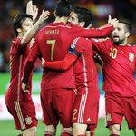 Com pitada de sorte, Espanha vence final contra a Ucrânia por vaga na Eurocopa; VEJA:  http://t.co/58KVdVsXx8 http://t.co/LV8b55HM7d