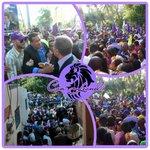 En la circunscripción 2 del DN se ha desbordado el mar humano para compartir con próximo Presidente @LeonelFernandez http://t.co/t4VYBc8WqP
