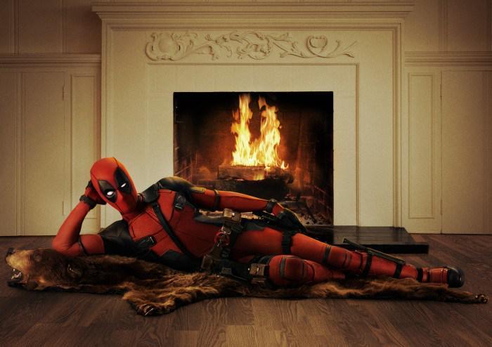 『X-MEN』スピンオフ『デッドプール』のコスチューム姿をライアン・レイノルズが公開!暖炉の前でセクシーポーズを披露して言うには「大いなる力には大いなる無責任が伴う」 http://t.co/8N5LoZOoJX #HIHOnews http://t.co/HL1sDbyooe