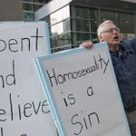"""@tlrd:Anti-Gay Activist Bill Whatcott Leaves Canada Bring Hate The Philippines: VIDEO http://t.co/UMVGleXywc http://t.co/eoshFMH5WK"" FUCKER"