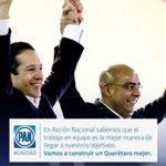 En Querétaro felicito a @PanchDominguez y @MarcosAguilar Aun no inician las campañas y ya encabezan las preferencias http://t.co/kIk7Wub0a6
