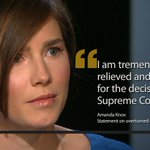 #AmandaKnox relieved murder conviction overturned by Italian Court http://t.co/vhtfbf5fcN @BLNadeau reports. @CNN http://t.co/AU9m6p8Wtz