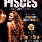 Pisces Tonight #Toronto Brought to you by Bachelors Ent. http://t.co/0y4XyYIw52