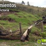 #Loja: Deslizamientos de tierra en Ciudad Victoria a causa de lluvia. http://t.co/9vnfZFYEZZ