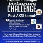 Setelah upload, jangan lupa sertakan #NgalamPetengan #IniAksiku dan #YourPower dan tag IG kami dan 5 teman kalian???? http://t.co/Zpg7CFVkUR