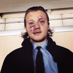 """@rolsen94: Fight in the first. Puck in the face in the second #hockey http://t.co/IEHINhHcXD"" warrior!!! @rolsen94"