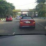 Mobil merah ini sempat menjadi nazar Mak Vera, jika Olga sembuh mobil merah ini yg akan menjemputnya di bandara. http://t.co/CDBXfj7EMr