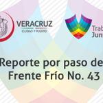 Reporte por paso del Frente Frío No. 43 en el municipio de Veracruz: http://t.co/3jypjpUcD1 http://t.co/UMrno0TJXs