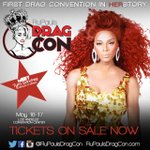 Ready to meet @iTyra? Shell be @RuPauls #DragCon May 16/17 #LA Convention Center! Get tix--> http://t.co/2O7avjG9eM http://t.co/ESD065y8tY